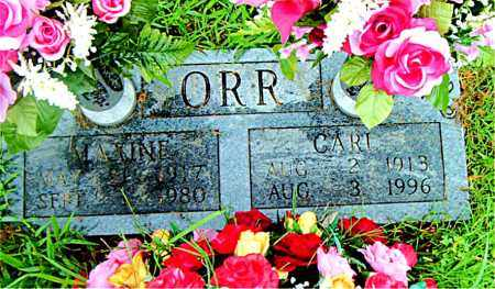 ORR, CARL - Boone County, Arkansas | CARL ORR - Arkansas Gravestone Photos