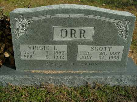 ORR, SCOTT - Boone County, Arkansas | SCOTT ORR - Arkansas Gravestone Photos