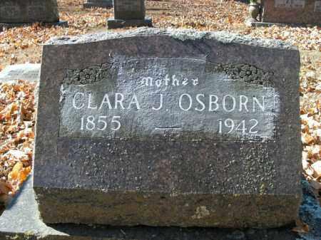 OSBORN, CLARA J. - Boone County, Arkansas | CLARA J. OSBORN - Arkansas Gravestone Photos
