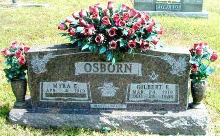 OSBORN, GILBERT  E. - Boone County, Arkansas | GILBERT  E. OSBORN - Arkansas Gravestone Photos