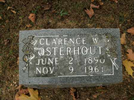 OSTERHOUT, CLARENCE W. - Boone County, Arkansas | CLARENCE W. OSTERHOUT - Arkansas Gravestone Photos
