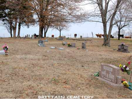*BRITTAIN CEMETERY OVERVIEW,  - Boone County, Arkansas |  *BRITTAIN CEMETERY OVERVIEW - Arkansas Gravestone Photos