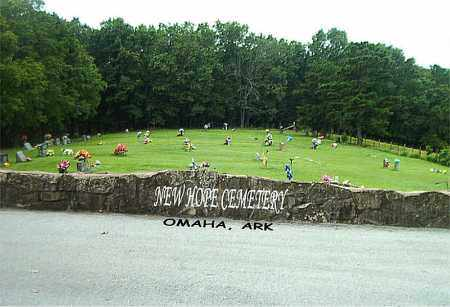 *NEW HOPE CEMETERY OVERVIEW,  - Boone County, Arkansas |  *NEW HOPE CEMETERY OVERVIEW - Arkansas Gravestone Photos