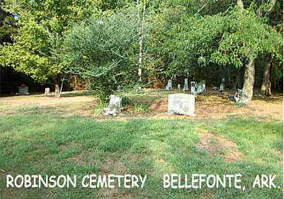 *ROBINSON FAMILY CEMETERY VIEW,  - Boone County, Arkansas |  *ROBINSON FAMILY CEMETERY VIEW - Arkansas Gravestone Photos