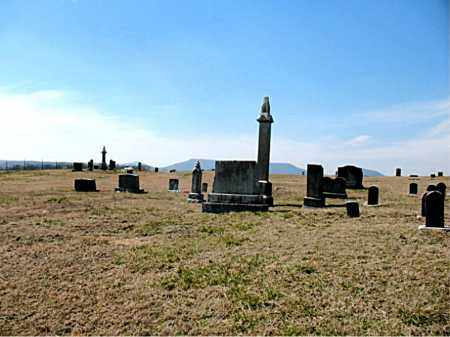 *BALD KNOB CEMETERY OVERVIEW,  - Boone County, Arkansas |  *BALD KNOB CEMETERY OVERVIEW - Arkansas Gravestone Photos