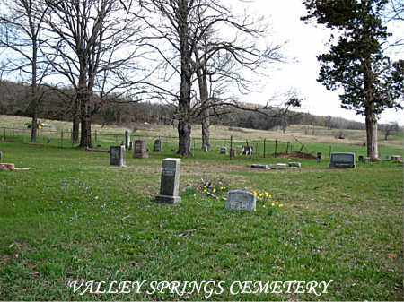 *VALLEY SPRINGS CEMETERY OVERV,  - Boone County, Arkansas |  *VALLEY SPRINGS CEMETERY OVERV - Arkansas Gravestone Photos