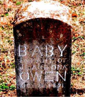 OWEN, INFANT - Boone County, Arkansas | INFANT OWEN - Arkansas Gravestone Photos