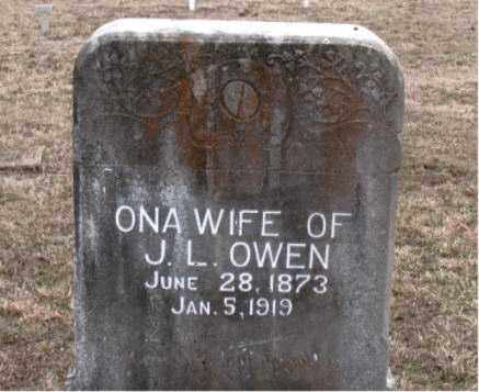 OWEN, ONA - Boone County, Arkansas | ONA OWEN - Arkansas Gravestone Photos