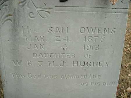 OWENS, MRS. SAM - Boone County, Arkansas | MRS. SAM OWENS - Arkansas Gravestone Photos