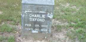 OXFORD, CHARLIE - Boone County, Arkansas | CHARLIE OXFORD - Arkansas Gravestone Photos