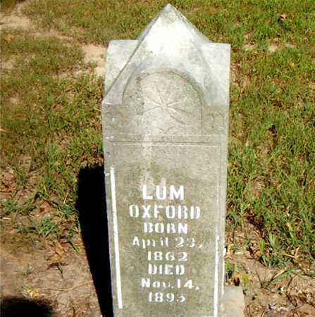 OXFORD, LUM - Boone County, Arkansas | LUM OXFORD - Arkansas Gravestone Photos