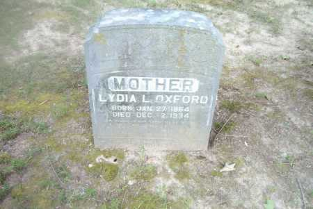 OXFORD, LYDIA L. - Boone County, Arkansas | LYDIA L. OXFORD - Arkansas Gravestone Photos