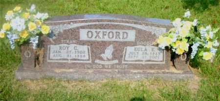 OXFORD, EULA E. - Boone County, Arkansas | EULA E. OXFORD - Arkansas Gravestone Photos