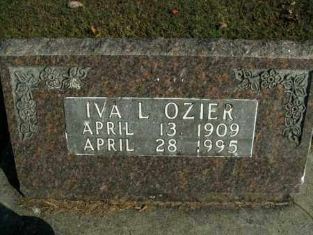 OZIER, IVA LEE - Boone County, Arkansas | IVA LEE OZIER - Arkansas Gravestone Photos