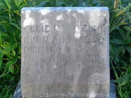 OZIER, OLLIE B. - Boone County, Arkansas | OLLIE B. OZIER - Arkansas Gravestone Photos