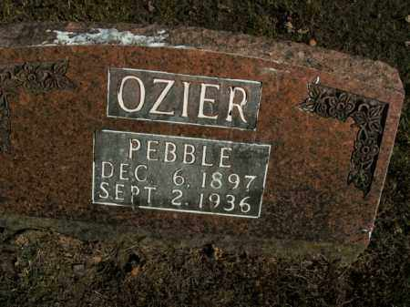 OZIER, PEBBLE - Boone County, Arkansas | PEBBLE OZIER - Arkansas Gravestone Photos