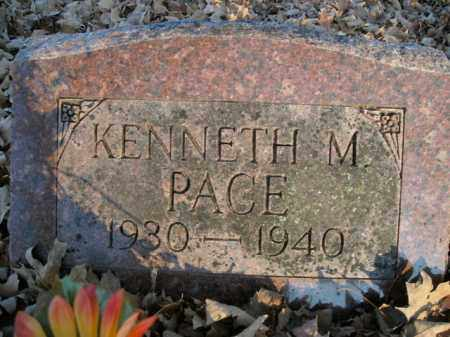 PACE, KENNETH M. - Boone County, Arkansas | KENNETH M. PACE - Arkansas Gravestone Photos