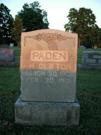 PADEN, HENRY CLIFTON - Boone County, Arkansas | HENRY CLIFTON PADEN - Arkansas Gravestone Photos