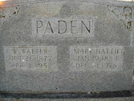 PADEN, WILLIAM WALTER - Boone County, Arkansas | WILLIAM WALTER PADEN - Arkansas Gravestone Photos