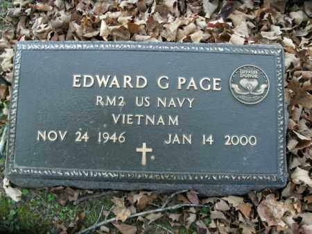 PAGE  (VETERAN VIET), EDWARD G - Boone County, Arkansas | EDWARD G PAGE  (VETERAN VIET) - Arkansas Gravestone Photos