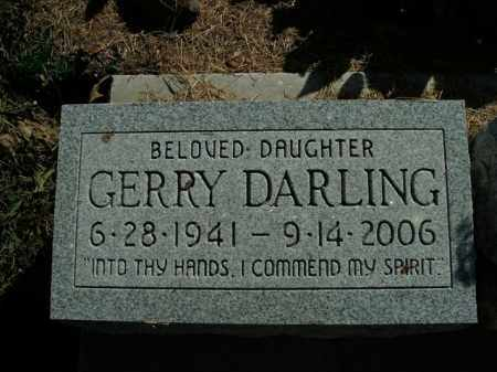DARLING PALESE, GERRY - Boone County, Arkansas | GERRY DARLING PALESE - Arkansas Gravestone Photos