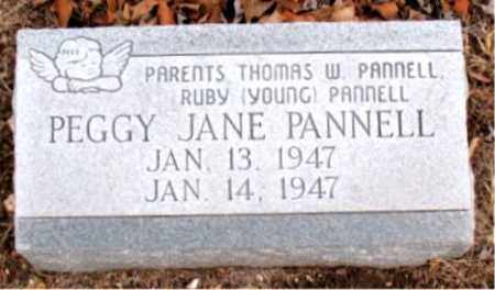 PANNELL, PEGGY JANE - Boone County, Arkansas | PEGGY JANE PANNELL - Arkansas Gravestone Photos