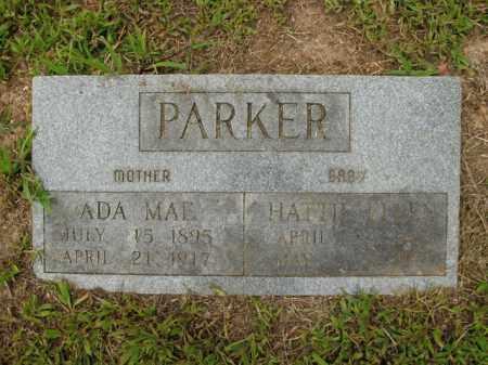 PARKER, HATTIE ELLEN - Boone County, Arkansas | HATTIE ELLEN PARKER - Arkansas Gravestone Photos