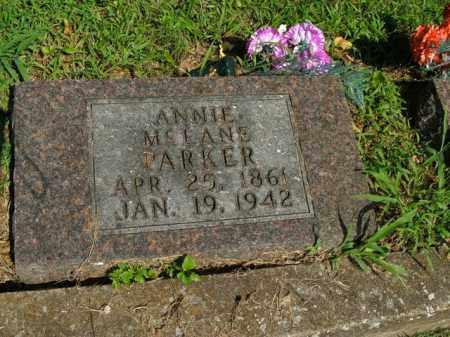 MCLANE PARKER, ANNIE - Boone County, Arkansas | ANNIE MCLANE PARKER - Arkansas Gravestone Photos