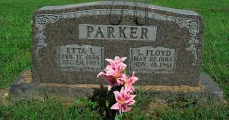 PARKER, ETTA L. - Boone County, Arkansas | ETTA L. PARKER - Arkansas Gravestone Photos