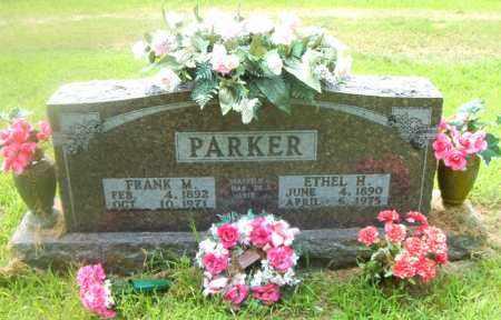 PARKER, FRANK M. - Boone County, Arkansas | FRANK M. PARKER - Arkansas Gravestone Photos