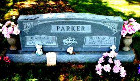 PARKER, SHERMAN  A. - Boone County, Arkansas | SHERMAN  A. PARKER - Arkansas Gravestone Photos