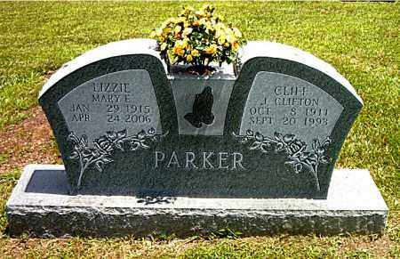 "PARKER, J. CLIFTON ""CLIFF"" - Boone County, Arkansas 