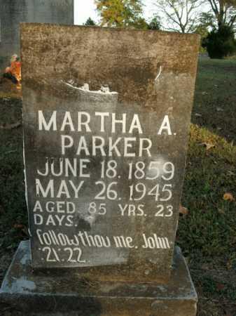PARKER, MARTHA A. - Boone County, Arkansas   MARTHA A. PARKER - Arkansas Gravestone Photos