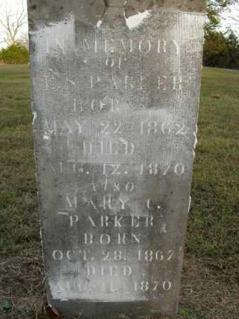PARKER, MARY C. - Boone County, Arkansas | MARY C. PARKER - Arkansas Gravestone Photos