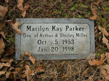 MILLER PARKER, MARILYN KAY - Boone County, Arkansas | MARILYN KAY MILLER PARKER - Arkansas Gravestone Photos