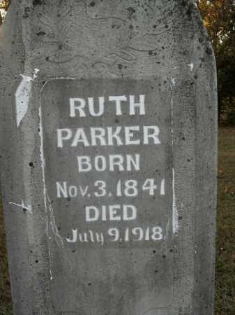 PARKER, RUTH - Boone County, Arkansas | RUTH PARKER - Arkansas Gravestone Photos