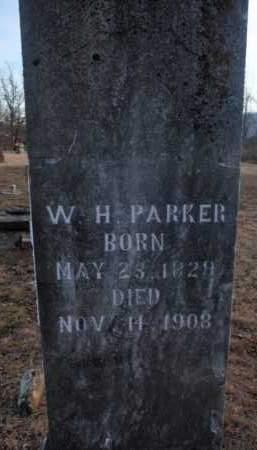 PARKER, W.H. - Boone County, Arkansas | W.H. PARKER - Arkansas Gravestone Photos