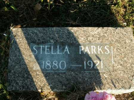 PARKS, STELLA - Boone County, Arkansas | STELLA PARKS - Arkansas Gravestone Photos