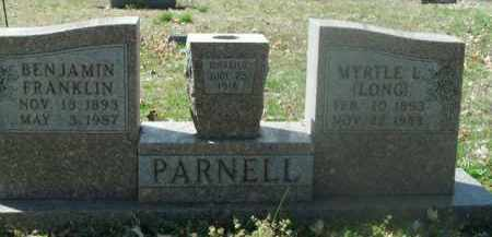 LONG PARNELL, MYRTLE L. - Boone County, Arkansas | MYRTLE L. LONG PARNELL - Arkansas Gravestone Photos