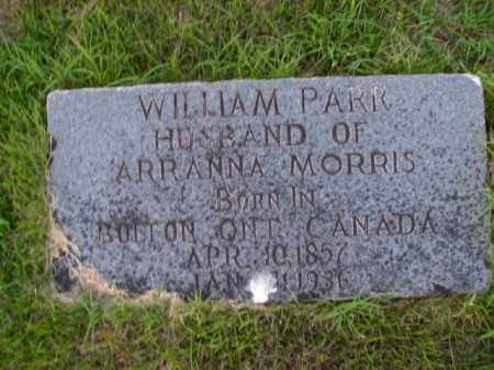 PARR, WILLIAM - Boone County, Arkansas | WILLIAM PARR - Arkansas Gravestone Photos