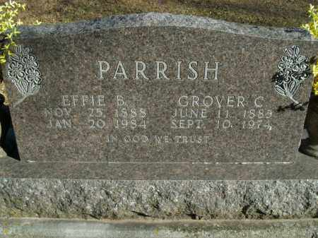 PARRISH, EFFIE B. - Boone County, Arkansas | EFFIE B. PARRISH - Arkansas Gravestone Photos