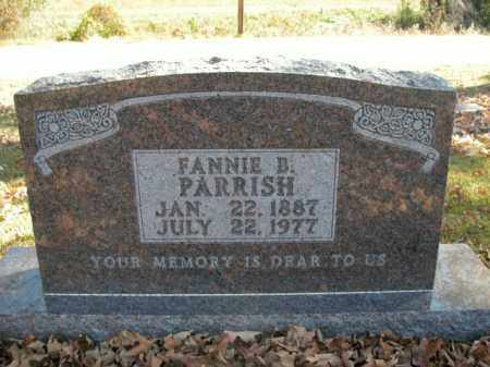 PARRISH, FANNIE B. - Boone County, Arkansas | FANNIE B. PARRISH - Arkansas Gravestone Photos