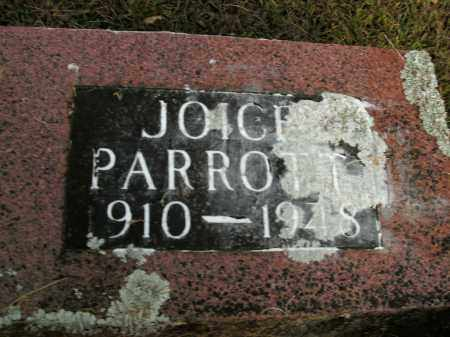 PARROTT, JOICE - Boone County, Arkansas | JOICE PARROTT - Arkansas Gravestone Photos