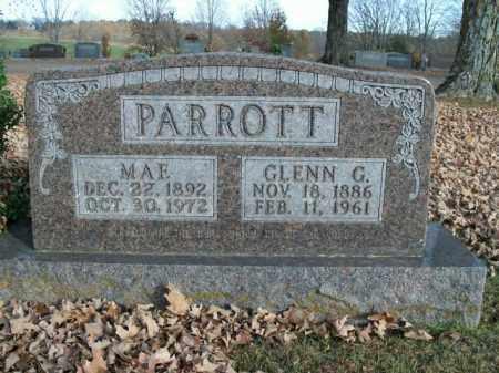 PARROTT, MAE - Boone County, Arkansas | MAE PARROTT - Arkansas Gravestone Photos