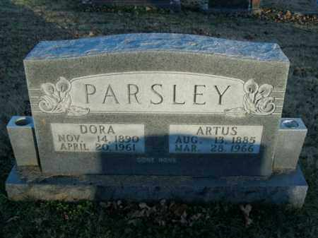 PARSLEY, ARTUS - Boone County, Arkansas | ARTUS PARSLEY - Arkansas Gravestone Photos
