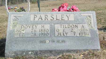 PARSLEY, TILDON ARTHUR - Boone County, Arkansas | TILDON ARTHUR PARSLEY - Arkansas Gravestone Photos