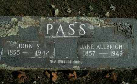 PASS, LUCINDA JANE - Boone County, Arkansas | LUCINDA JANE PASS - Arkansas Gravestone Photos
