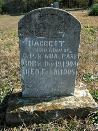 PASS, MARGRET - Boone County, Arkansas | MARGRET PASS - Arkansas Gravestone Photos