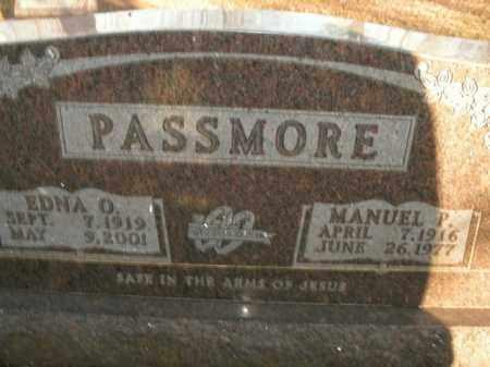 PASSMORE, MANUEL P. - Boone County, Arkansas | MANUEL P. PASSMORE - Arkansas Gravestone Photos