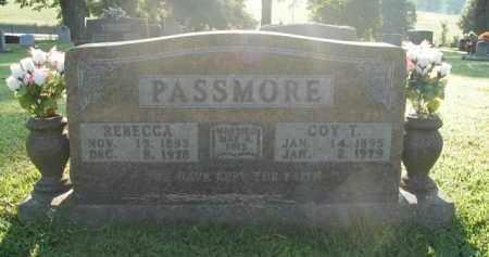 PASSMORE, COY T. - Boone County, Arkansas | COY T. PASSMORE - Arkansas Gravestone Photos